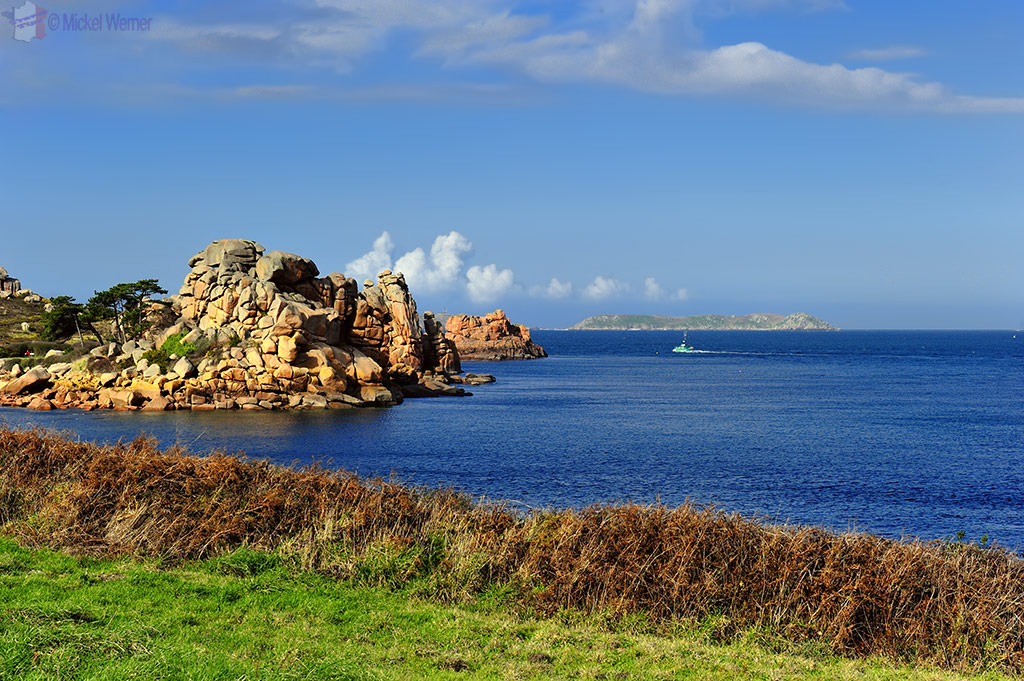 Coastal hiking path of Perros-Guirec
