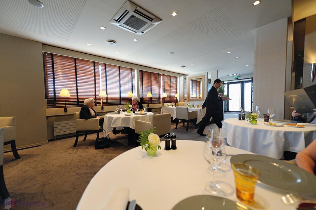 Inside Gill's restaurant in Rouen