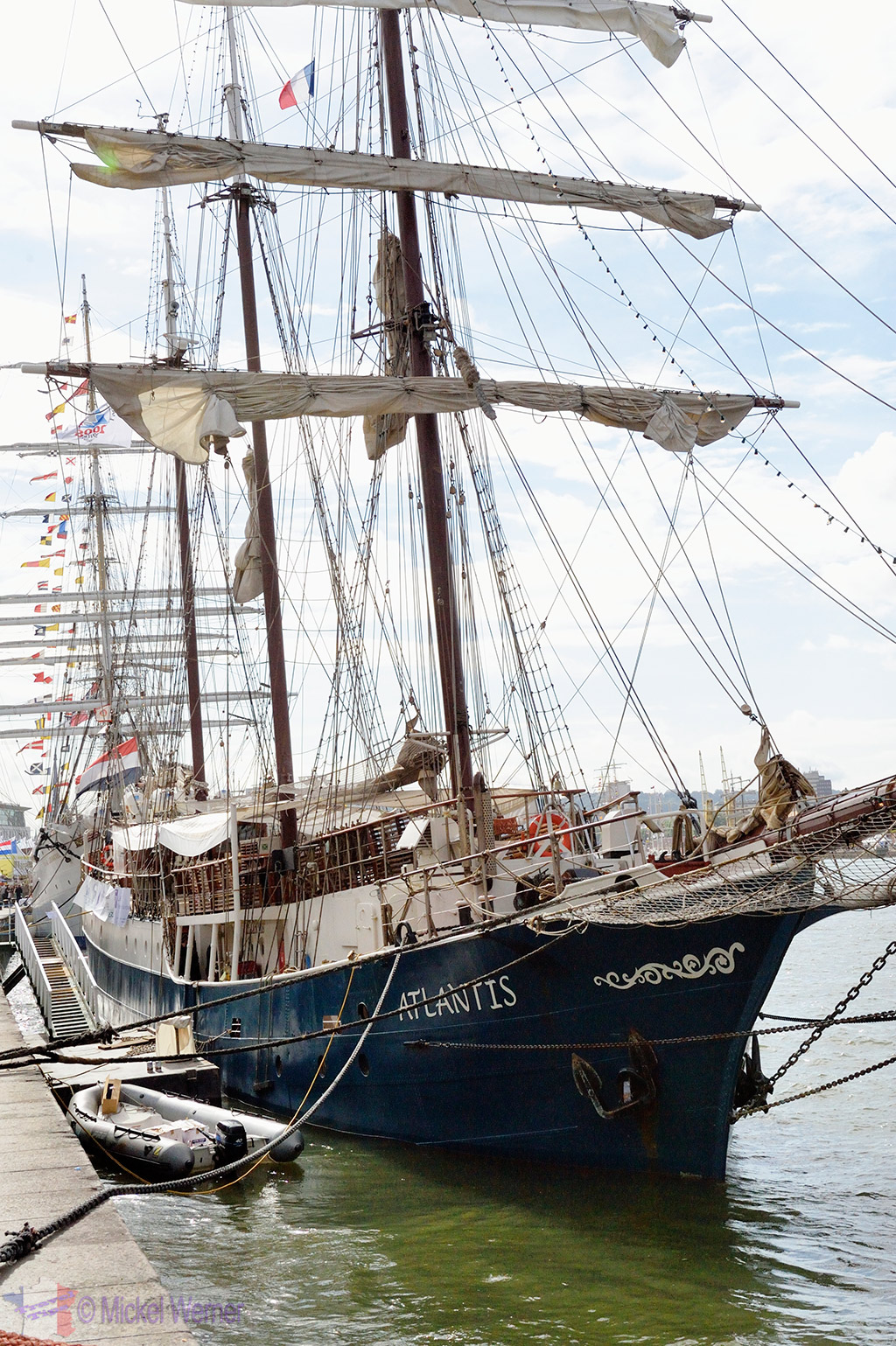 Rouen's Armada of tall sail ships