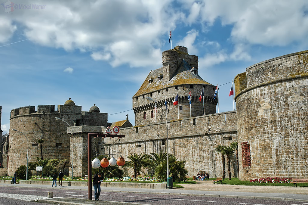 Fortress and walled city of St. Malo