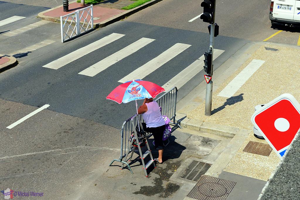 First spectators arrive at the Tour de France