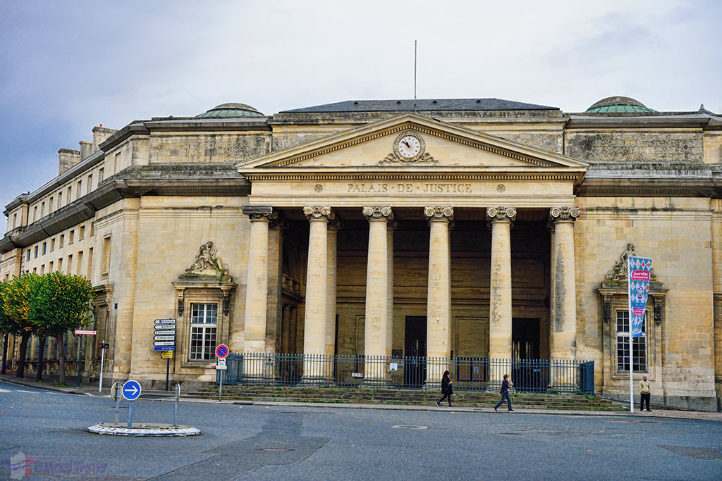 The courts of law of Caen