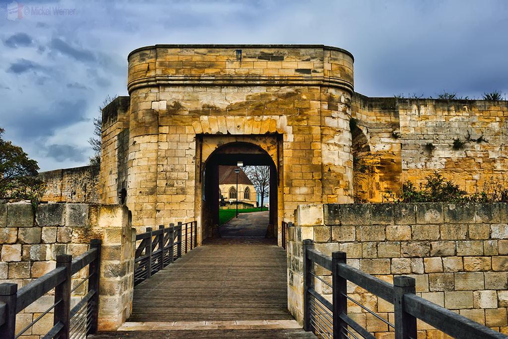 Drawbridge of the Caen castle