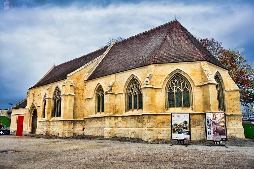 Saint-Georges church of the Caen castle