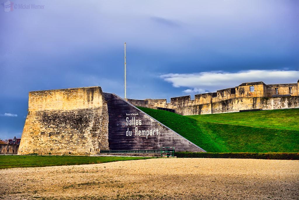 """The """"salles du Rempart"""" of the Caen castle"""