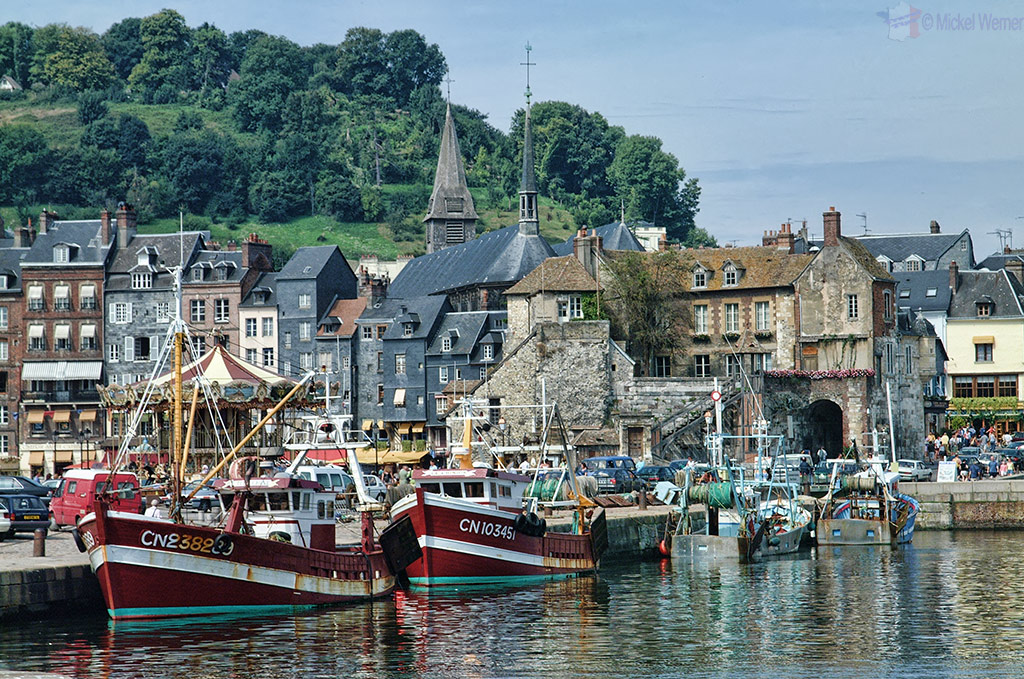 Fishing fleet at Honfleur