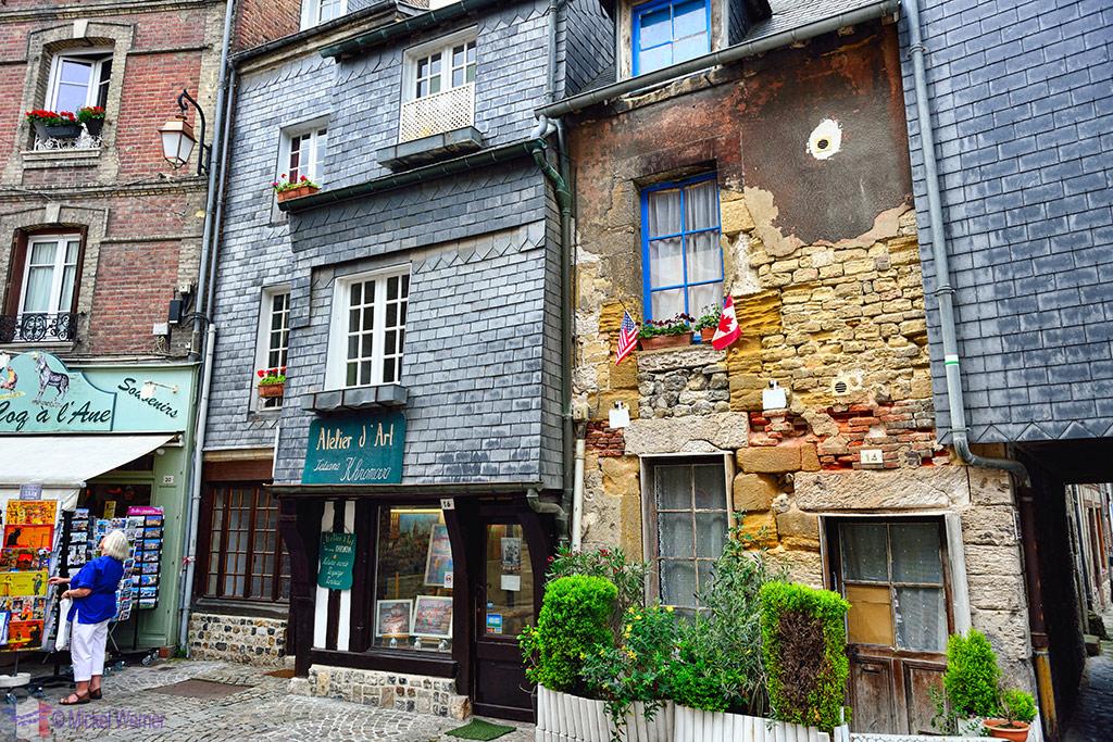 Old houses of Honfleur