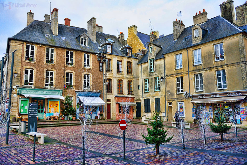 Square at Bayeux
