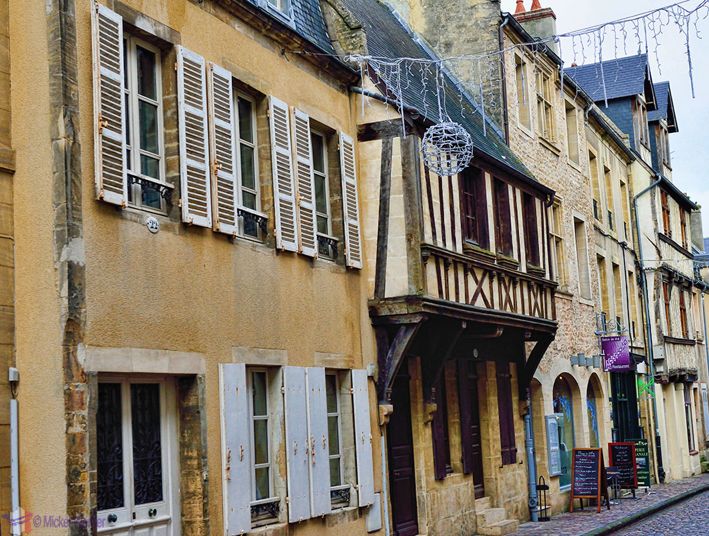 Normandy-style house in Bayeux