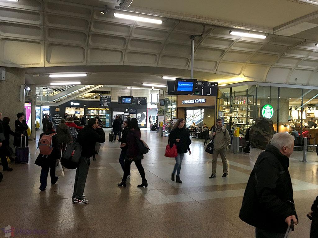TGV railway station