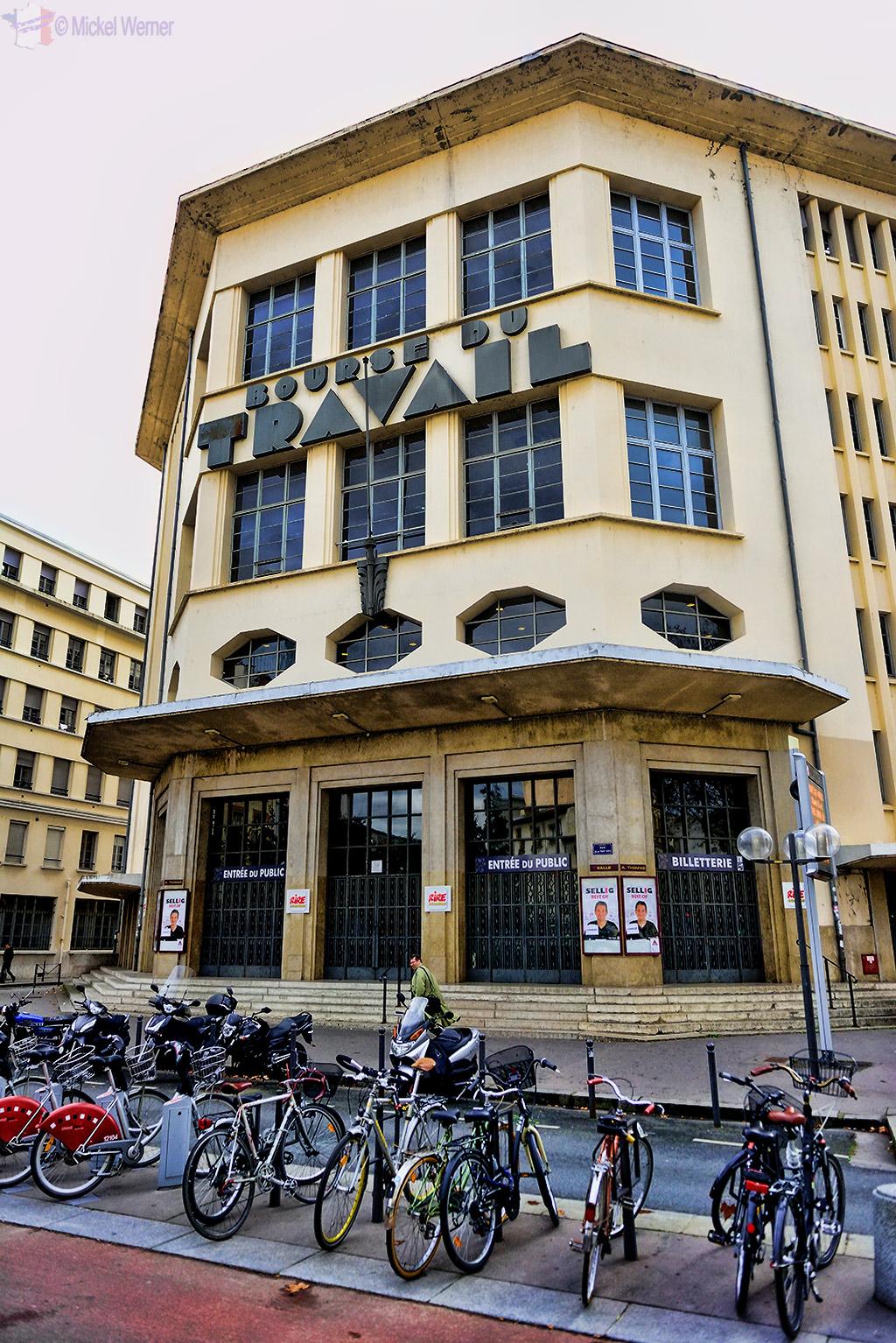 """""""Bourse du Travail"""" theatre of Lyon"""