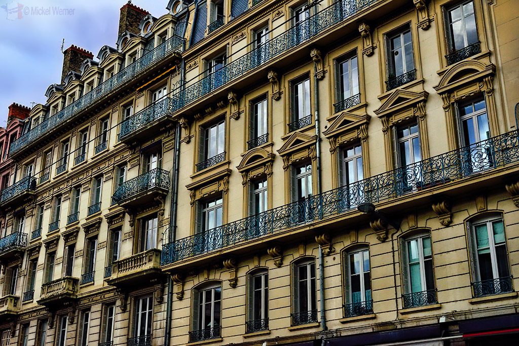 Buildings in Lyon
