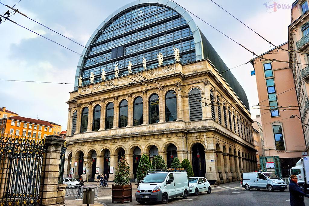 The opera of Lyon