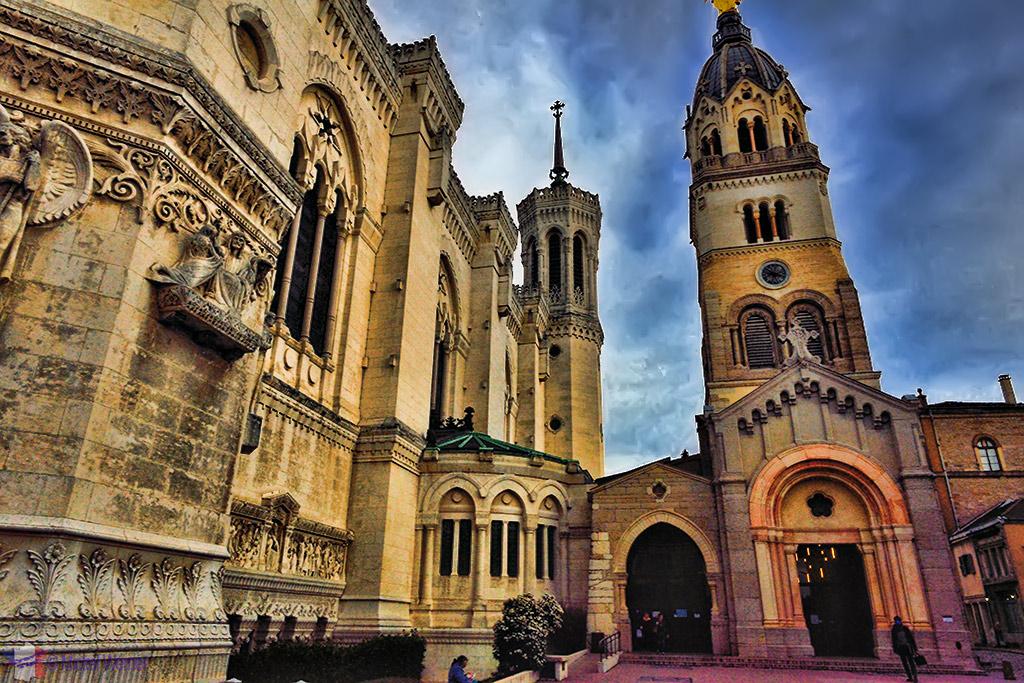 Chapelle de la Vierge (Chapel of the Virgin) of the Basilica of Lyon