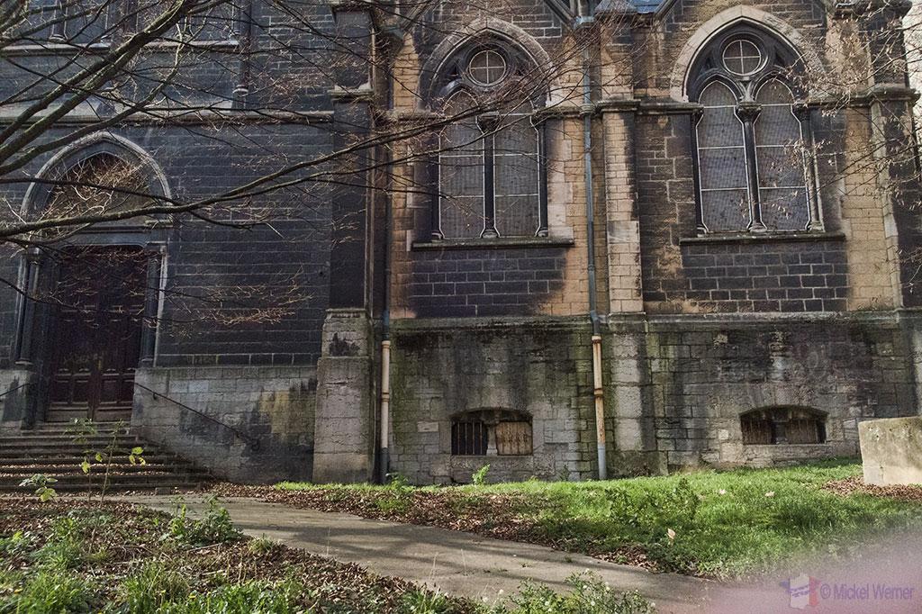 Church ruins in Lyon