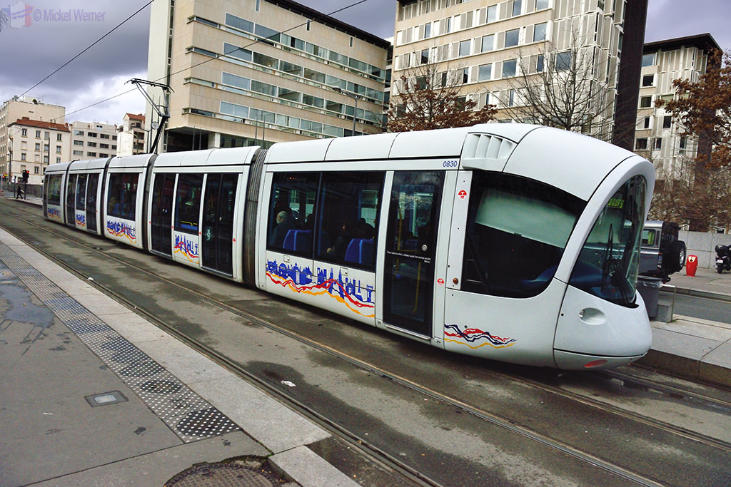 Lyon Transportation - Tram