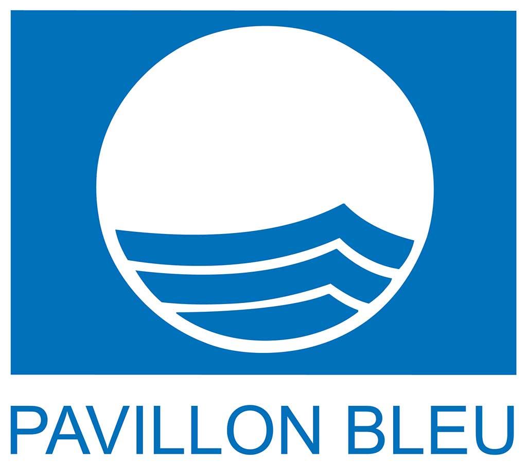 Pavillon Blue (Blue flag) logo