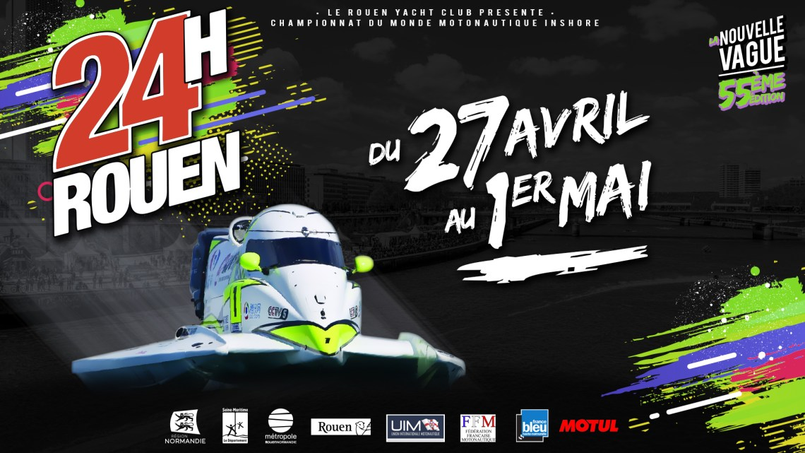 24 Hours speed boat race of Rouen