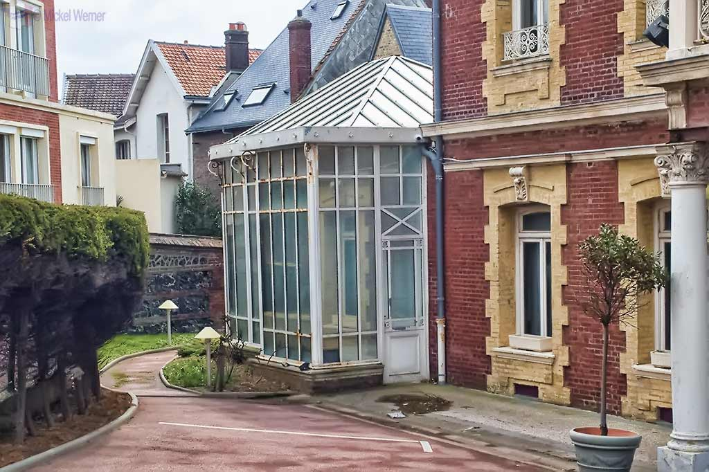Greenhouse in the Le Havre's Villa Maritime castle