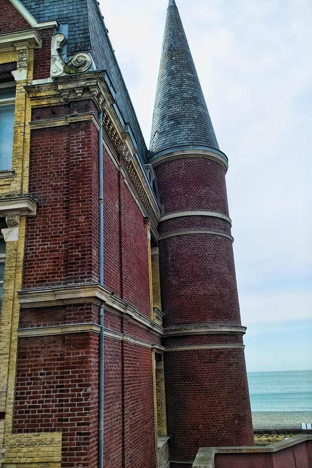 Turret of the Le Havre's Villa Maritime castle