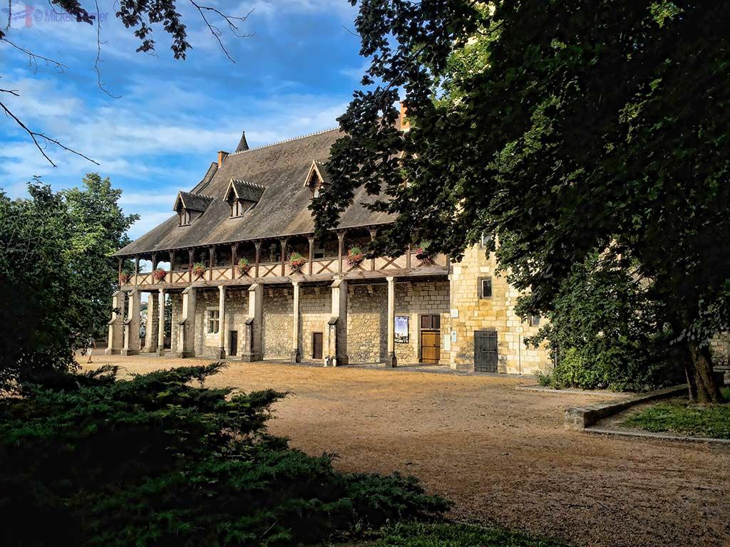 Dukes of Bourbon castle in Montlucon