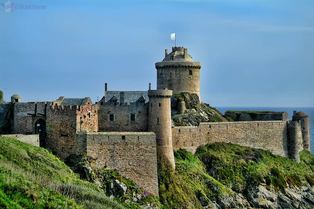 Fort-la-Latte fortress in Plevenon, Brittany