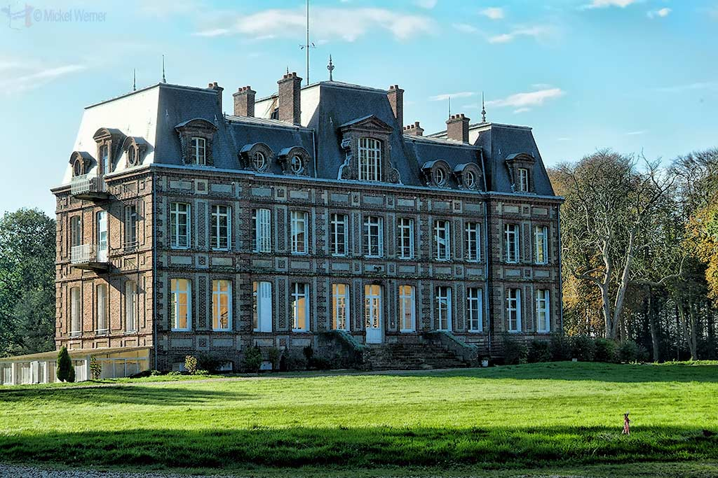 Varengeville-Sur-Mer castle in Upper Normandy