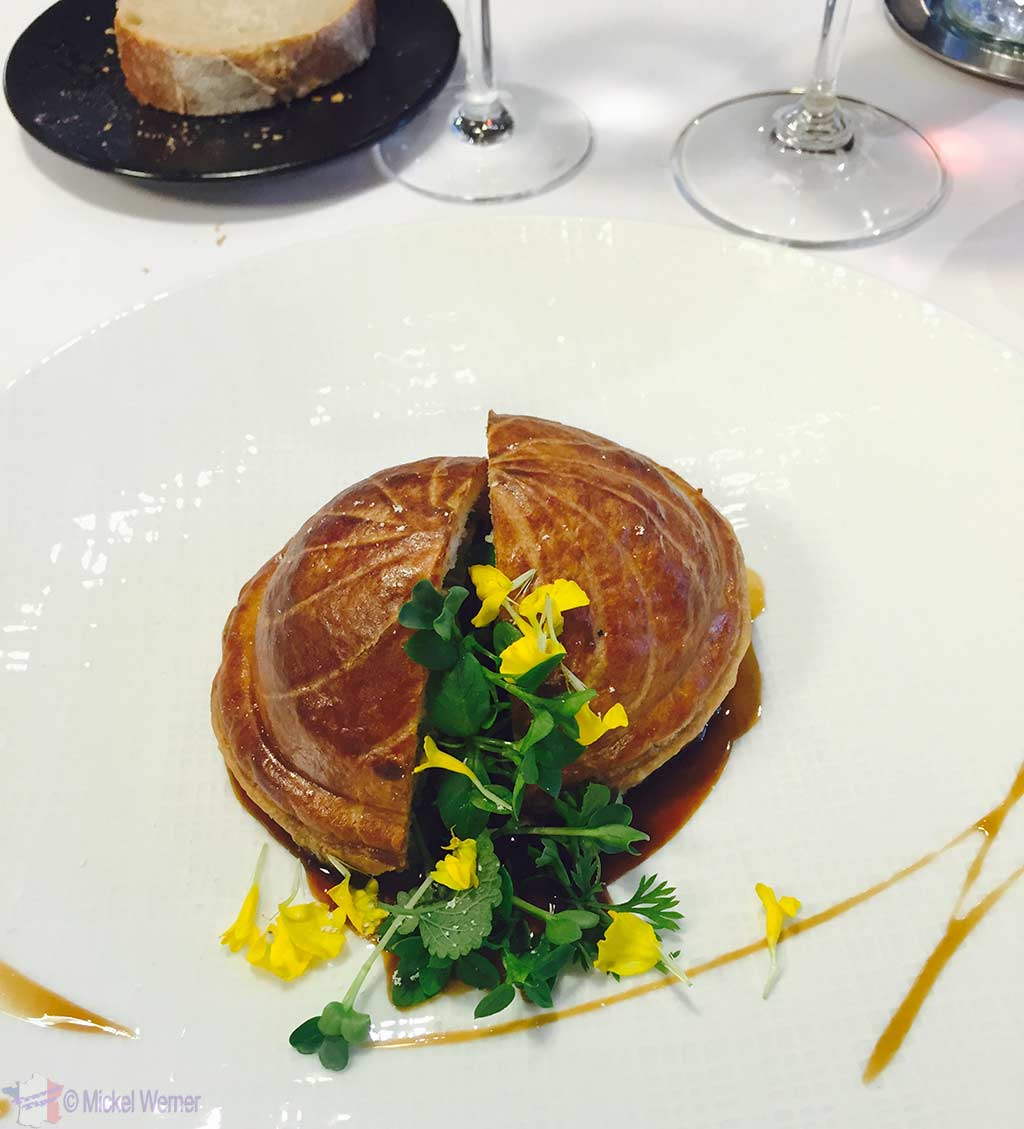 Canard de Rouen at the Le Bec Au Cauchois/Pierre Caillet restaurant in Valmont, Normandy