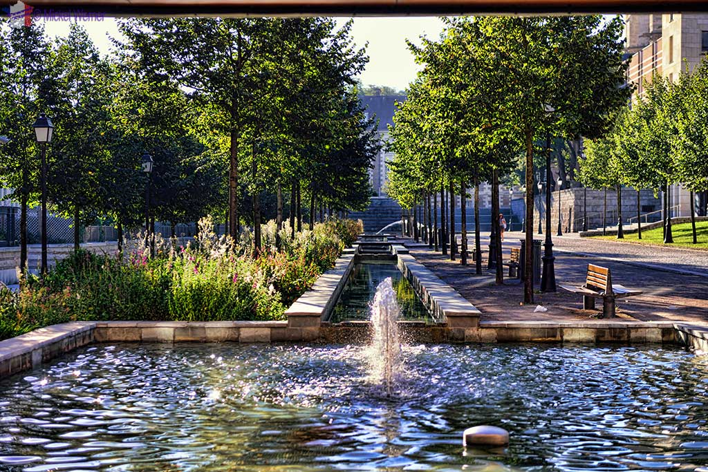A park in Amiens