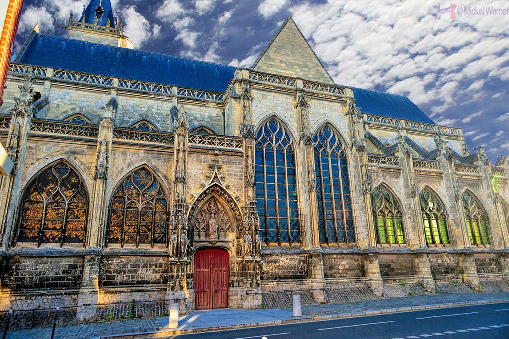 St. Germain church in Amiens