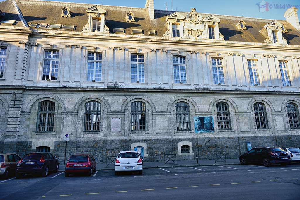 The back of the City Hall (Mairie) of Amiens