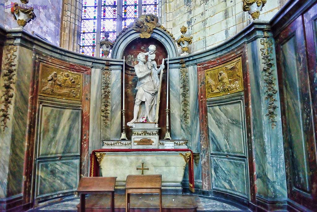 Saint-Christophe chapel of the Amiens cathedral