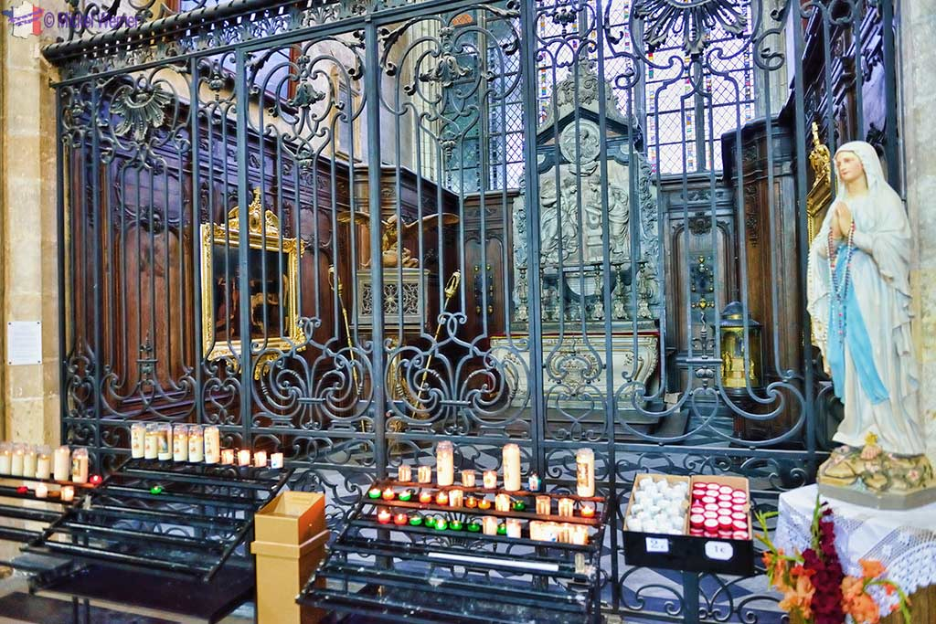 Chapel of the Annunciation of he Amiens cathedral
