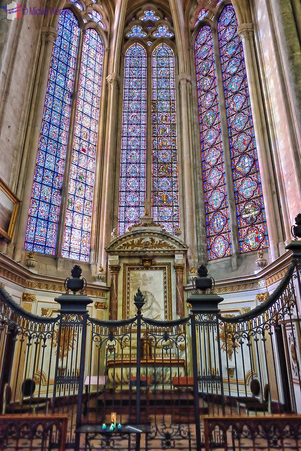 Saint-Nicaise chapel of the Amiens cathedral