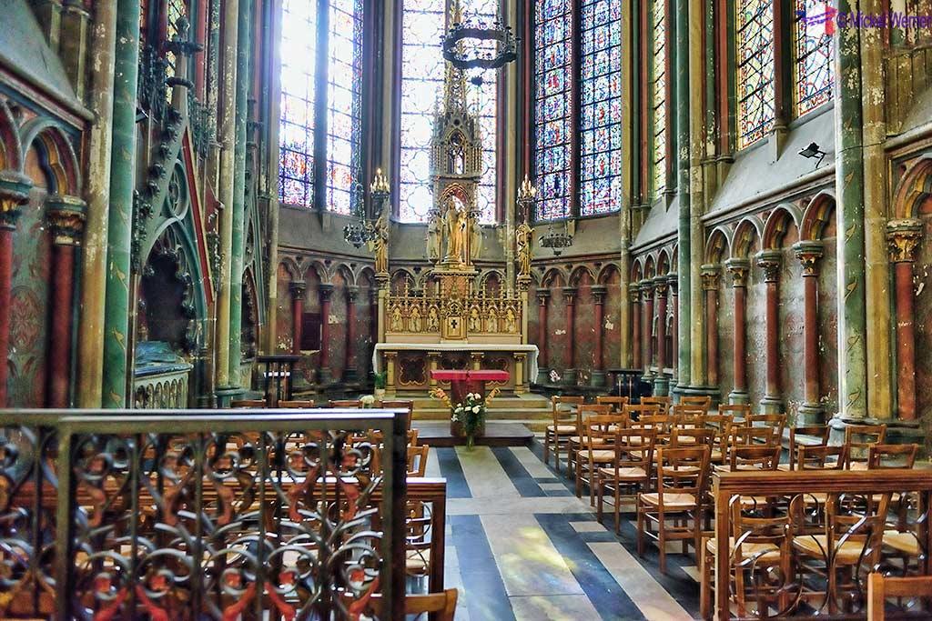 Notre-Dame-La-Drapiere chapel of the Amiens cathedral