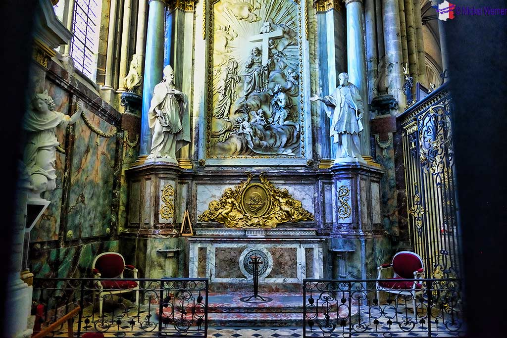 Saint-Pierre (Saint Peter) Chapel of the Amiens cathedral