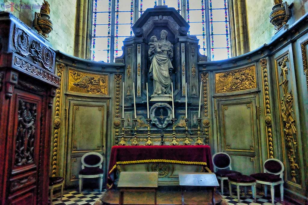 Saint-Louis chapel of the Amiens cathedral