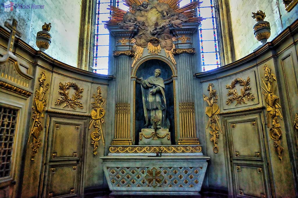 Saint-Honore chapel of the Amiens cathedral