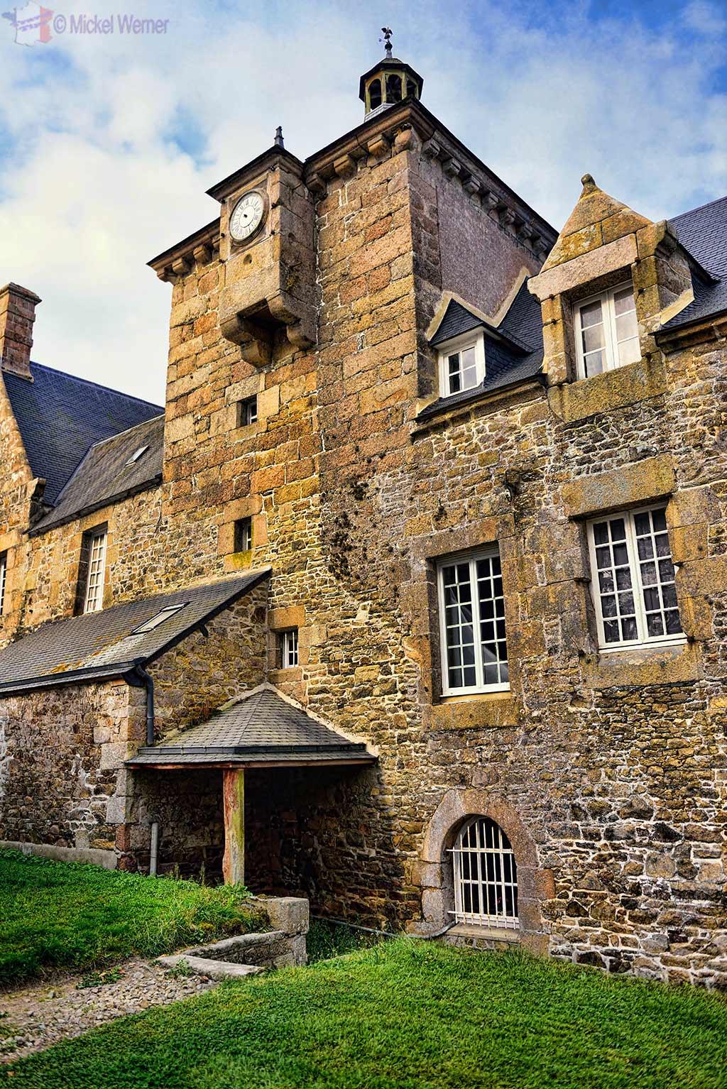 Chateau de Kerduel in Pleumeur-Bodou, Brittany
