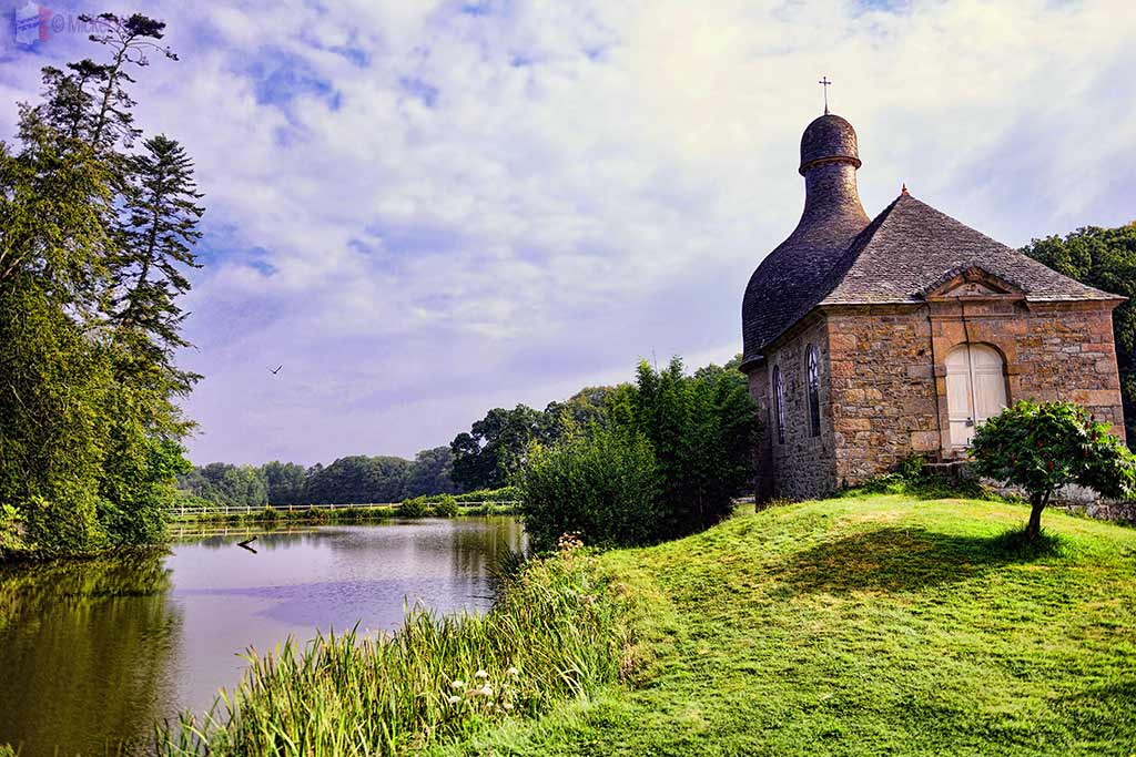 Chapel at the Chateau de Kerduel in Pleumeur-Bodou, Brittany