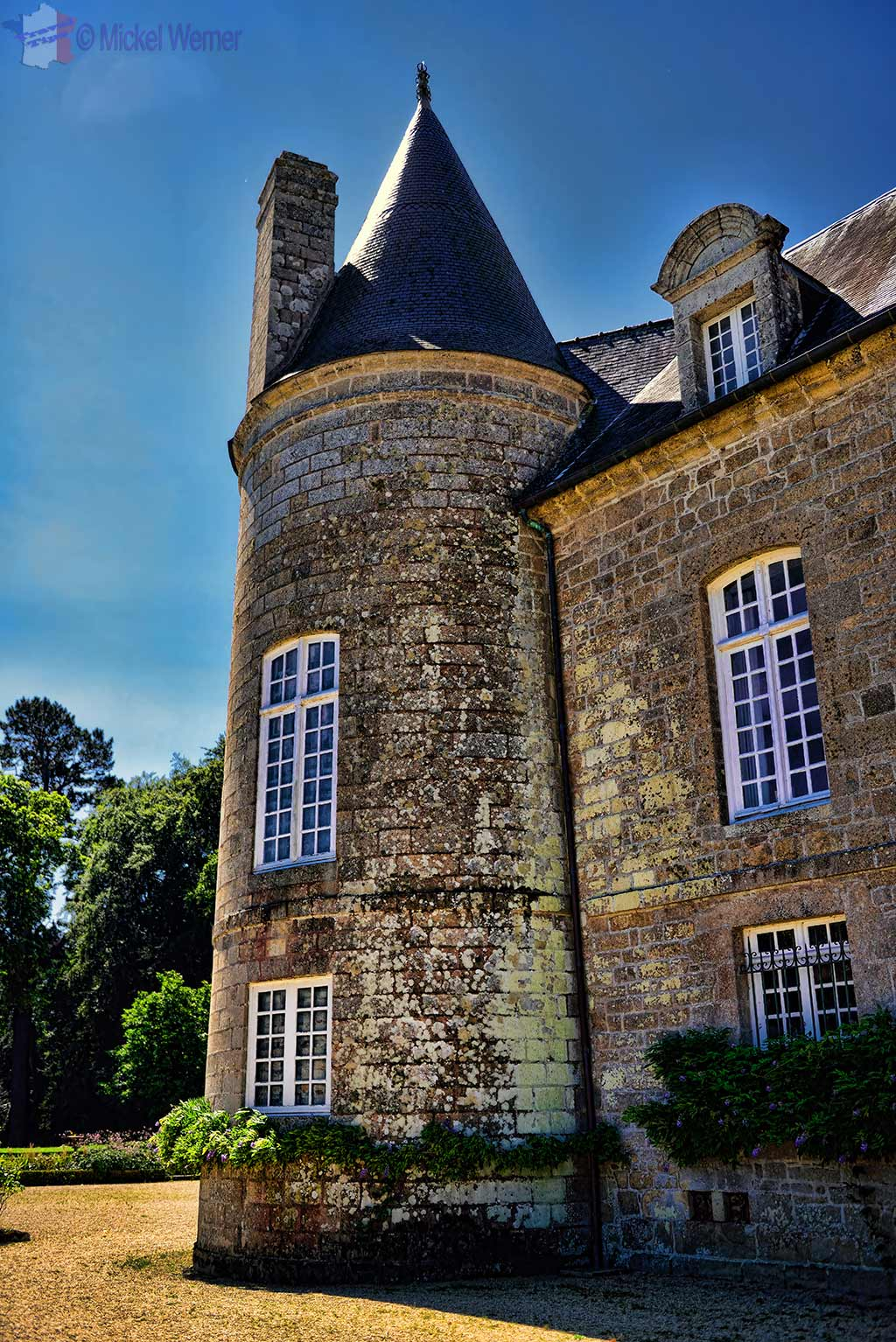 1 of 6 Towers of Castle Kergrist at Ploubezre, Brittany