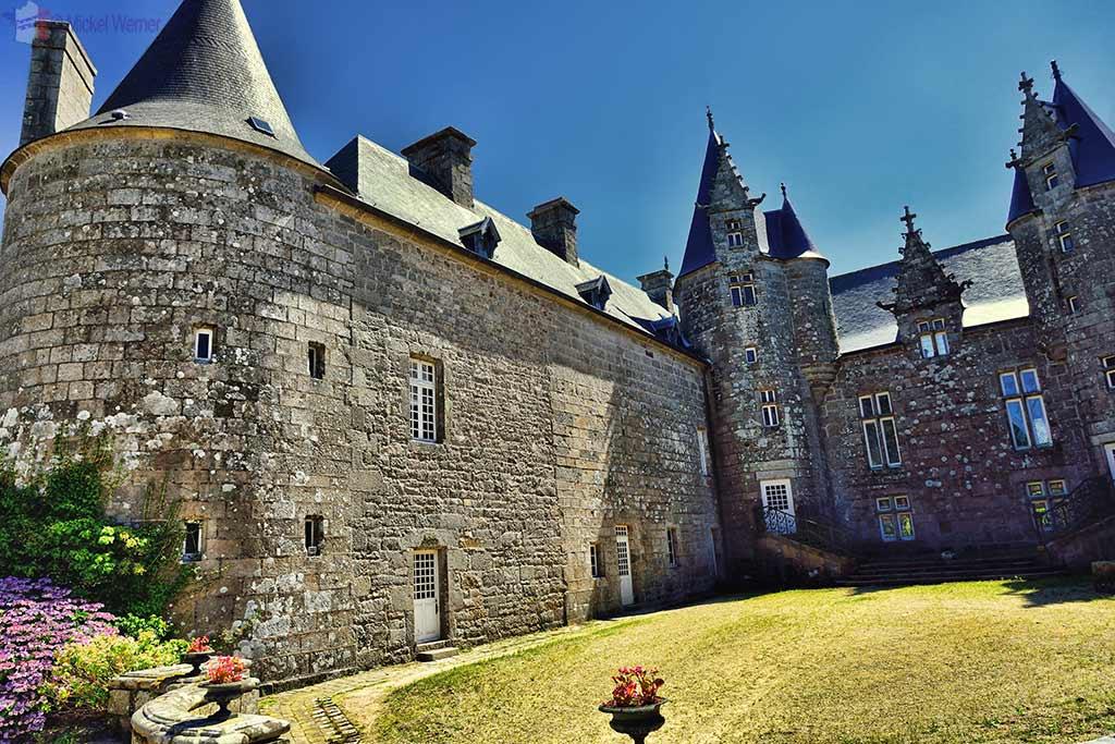 Castle Kergrist at Ploubezre, Brittany