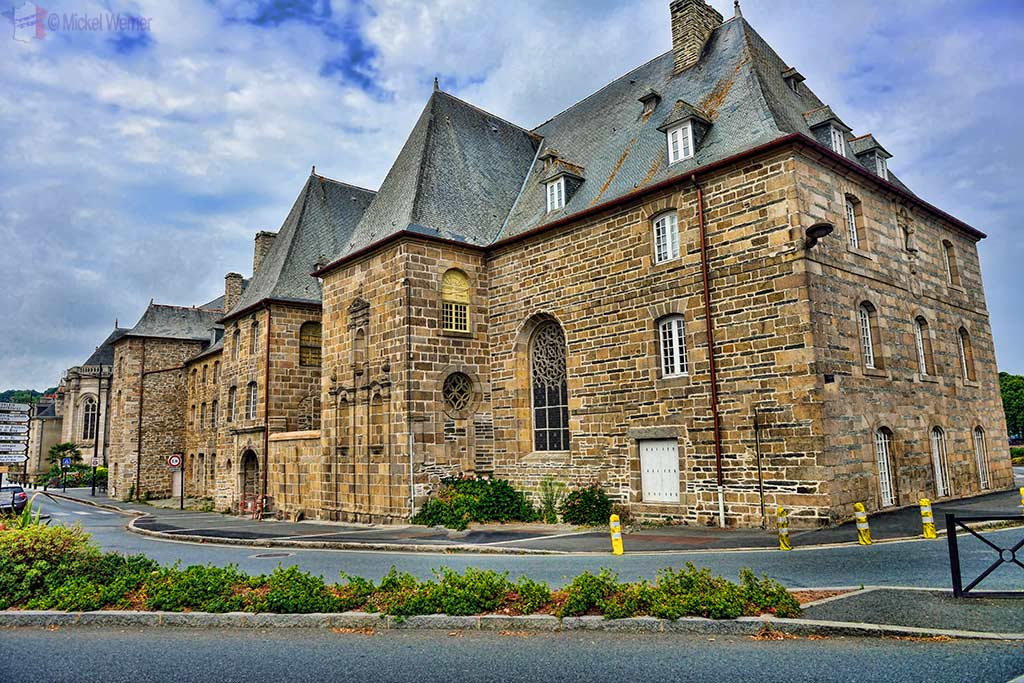 Sainte-Anne monastery in Lannion, Brittany