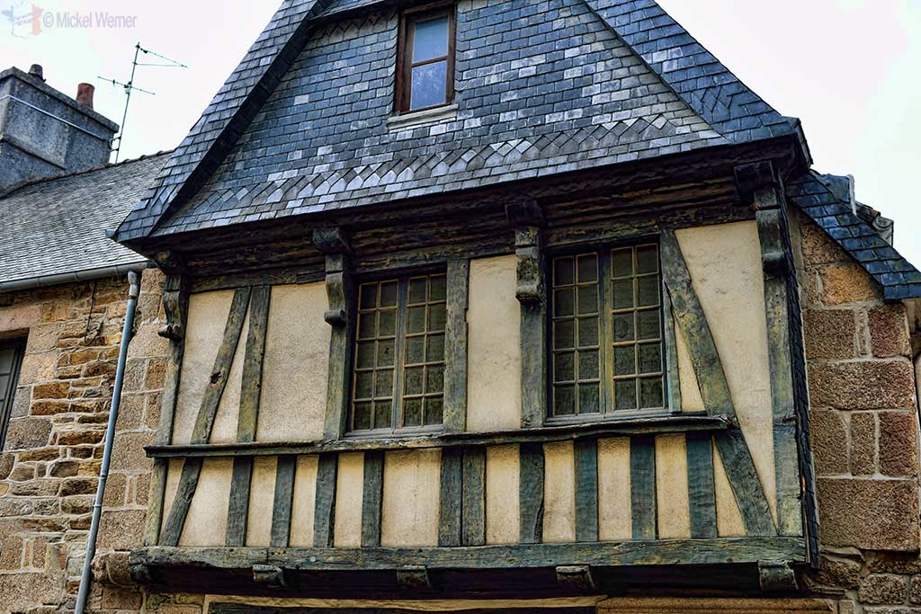 A house in the city centre of Lannion, Brittany