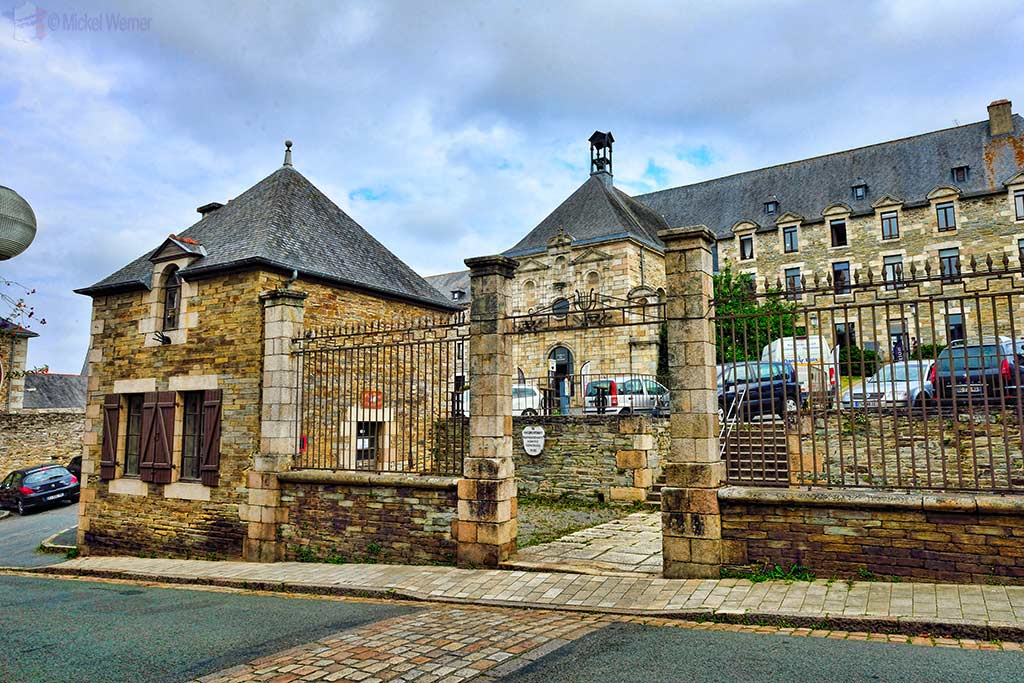 Ursulines convent in Lannion, Brittany