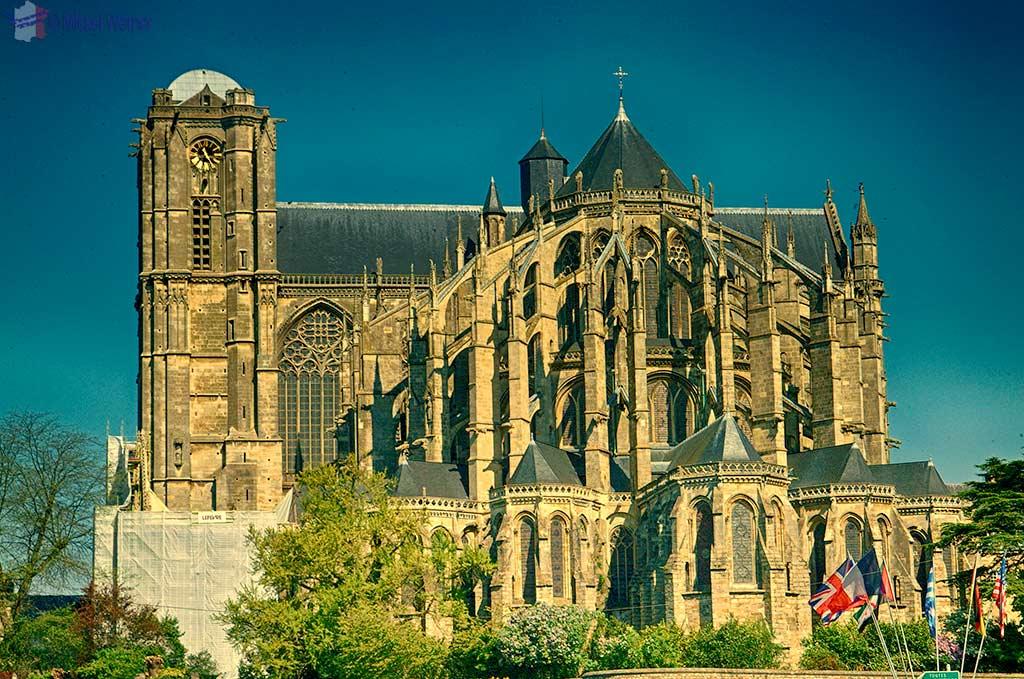 Saint-Julien cathedral of Le Mans