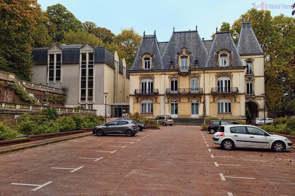 Physical re-education centre in the Villa la Roseraie (castle) at Saint Adresse (Normandy)