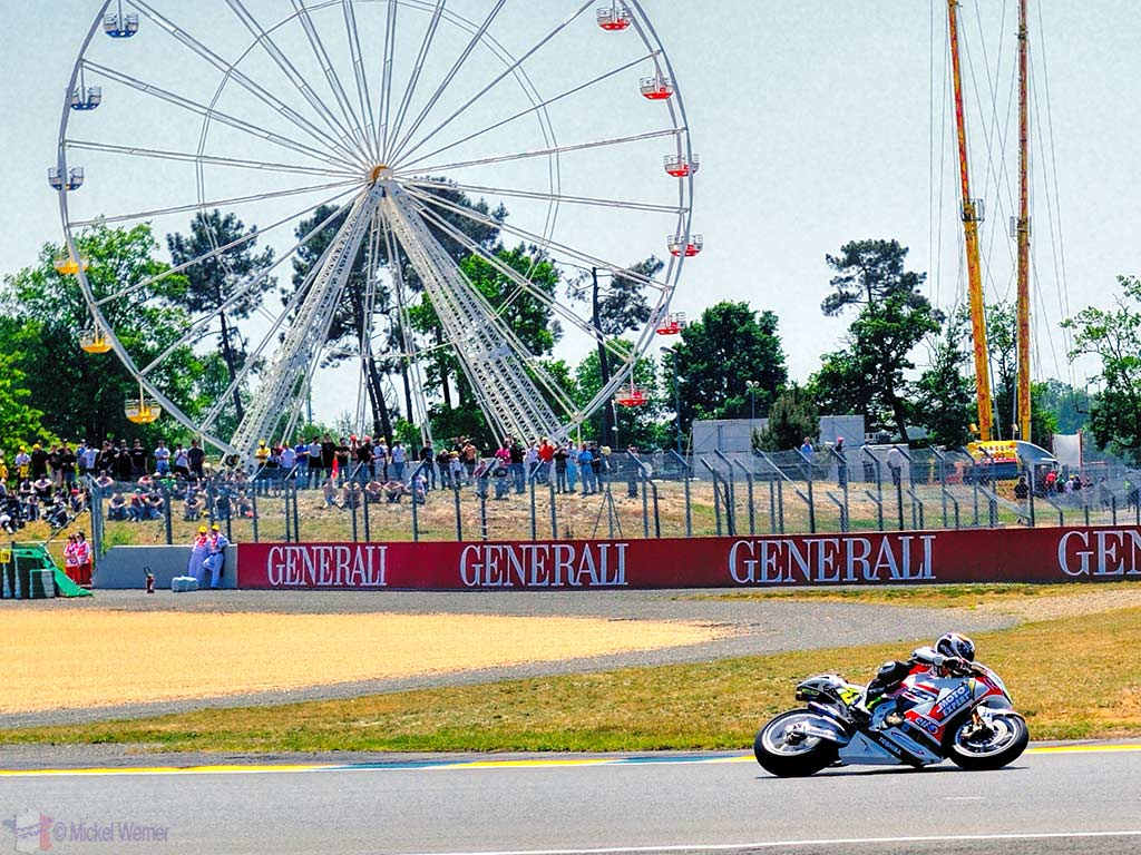 Motorcycle race in Le Mans