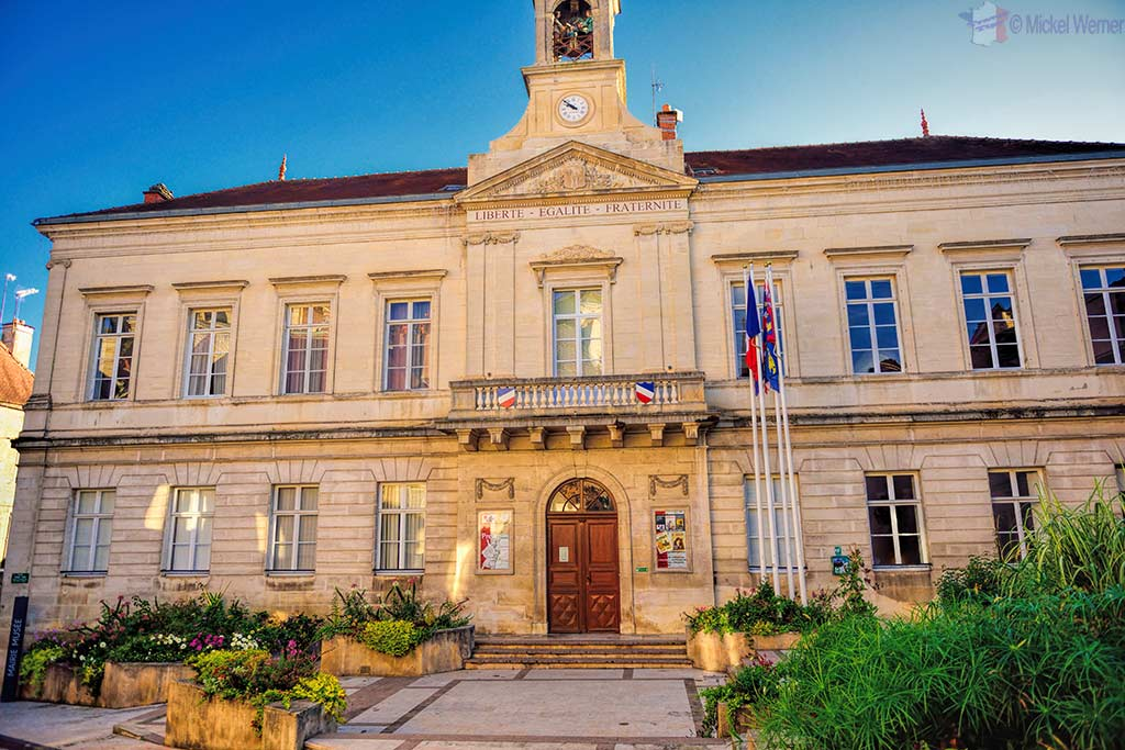 Mairie (City Hall) of Montbard in Burgundy