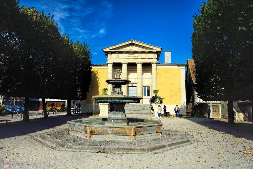Courthouse of Pont L'Eveque, Normandy